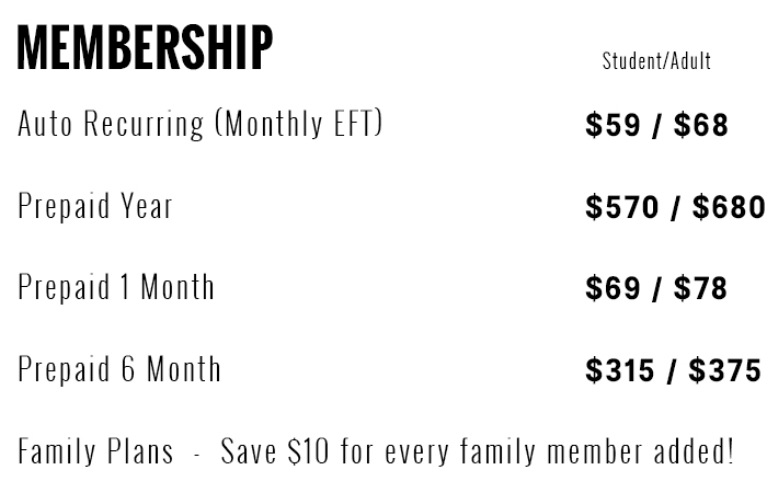 Memberships Template