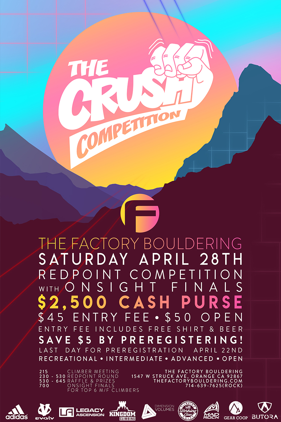 callout 4 crush poster